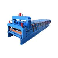 Buy cheap 3kw Color Glazed Roofing Step Tile Forming Machine from wholesalers