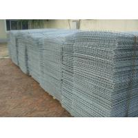 Wholesale Green Powder Coated Stone Cage Wire Mesh Twill Weave 80*100 Size from china suppliers