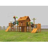 Wholesale Custom Wooden Playground Equipment Kindergarten Wooden Play Equipment from china suppliers
