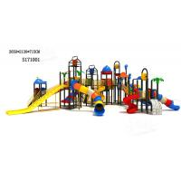 Wholesale Super Long Design Outdoor Water Playground Equipment Children Water Play Slides facility from china suppliers