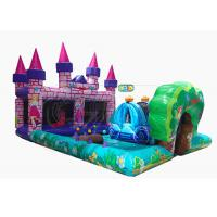 China Commercial Inflatable Bounce House Combo Princess Castle Play Zone Customized Size on sale
