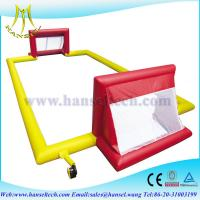 Wholesale Hansel inflatable soccer filed inflatable soccer area inflatable soccer ball playground from china suppliers