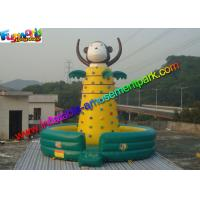 China Customized Inflatable Rock Climbing Wall Sport Climbing Games Outdoor on sale