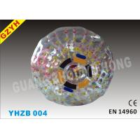 Wholesale 0.9mm PVC Hamster Inflatable Zorb Ball YHZB 004 with Out Dia 2.1m / inner Dia 1.5m from china suppliers