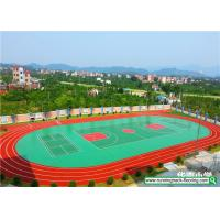 Buy cheap SSGsportsurface All Weather Resistant Running Track Mixed Basketball Court from wholesalers