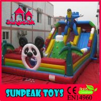 Wholesale PG-109 Commercial Slie Inflatable Jumping Bouncer from china suppliers