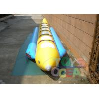 China 6 Person Outdoor Inflatable Water Toys Banana Boat Waterproof 0.9mm PVC on sale