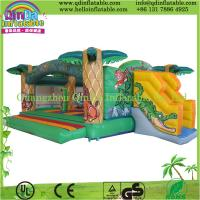 Wholesale Guangzhou QinDa Inflatable Various Kinds of PVC Inflatable Bouncer Castle House from china suppliers
