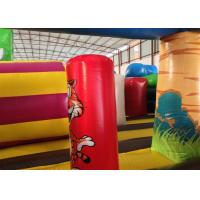 Quality Big Party Custom Made Inflatables 0.55mm Pvc Tarpaulin For Kindergarten Baby for sale