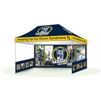 Advertising Promotional Display Tents Double Side Printing Canopy Tent For Exhibition