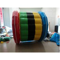 Wholesale 0.9mm PVC Tarpaulin Inflatable Water Toys Water Seesaw  Red Outdoor from china suppliers