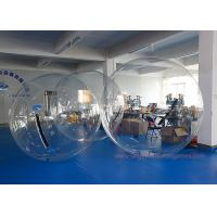 China TPU / PVC Large Inflatable Games , Clear Water Walking Bubble Ball on sale