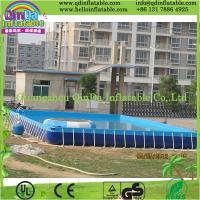 Wholesale Above Ground Frame Swimming Pool PVC Swimming Pool for Water Park from china suppliers