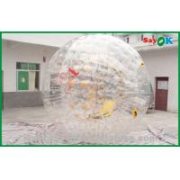 Wholesale PVC Bubble Human Sized Hamster Ball For Amusement Park 3.6x2.2m from china suppliers