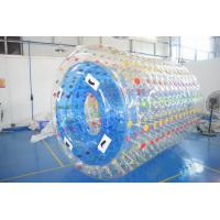 Wholesale 2.8m Long Water Roller Ball , Inflatable Roller For Lake Or Swimming Pool from china suppliers