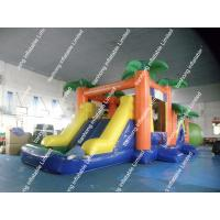 China Portable Inflatable Bounce House / Inflatable water Slide Trampoline on sale