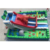 Wholesale inflatable dinasour slide , inflatable dry slide ,inflatable slide from china suppliers