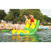 Wholesale Commercial Grade PVC Tarpaulin Inflatable Double Water Rocker for water park from china suppliers