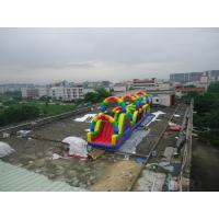 Wholesale PVC Tarpaulin Inflatable Playground Inflatable Sports Games Inflatable obstacle Playground from china suppliers