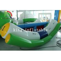 Wholesale Outdoor Summer Water Games White / Green Blow Water Seesaw PVC Toy For Kids And Adults from china suppliers