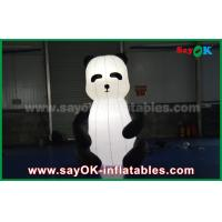 Wholesale Durable Custom Inflatable Products , Animal Inflatable Panda Cartoon for Advertising from china suppliers