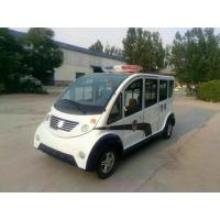 Wholesale 6 seats Electric Platform Truck Clean Energy Comfortable Compartment from china suppliers
