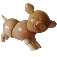 Wholesale PROMOTION!! THERE ARE SOME ARTIST WOODEN PIGS/RABBITS/GRAGONS/LIZARDS FOR SALE PROMOTION! from china suppliers