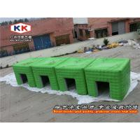 Small Air Tight Inflatable Camping Tent , Air Sealed Inflatable Cube Tent