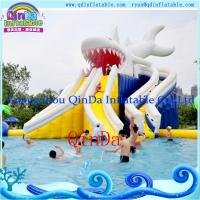 China Inflatable Water Park Water Slide for Summer Playing inflatable water park pool slide on sale