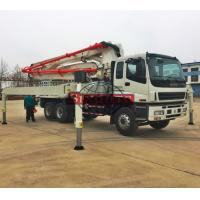 China 37m 39m Concrete Transport Truck LHD Drive Isuzu Chassis Schwing Pump Truck on sale