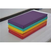 China 1M - 3M Childrens Soft Play Equipment Tri Fold Gym Dance Mats Exercise For School on sale