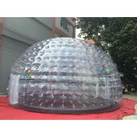Wholesale Dia 8M Large Inflatable Transparent Dome Tent Inflatable Bubble Tent For Party Event from china suppliers