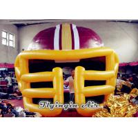 Wholesale Inflatable Baseball Helmet Tunnel, Inflatable Football Helmet Tunnel, Inflatable Sprot Tunnel from china suppliers