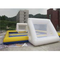 Wholesale Waterproof 0.6mm PVC Inflatable Sports Field , Inflatable Football Pitch from china suppliers