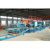 Wholesale Computer Control Sandwich Panel Roll Forming Machine With Sheet Shearing Machine from china suppliers