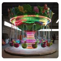 Wholesale Fun Fair Attractions Amusement Park Rides Dinosaur Swing Flying Chair from china suppliers