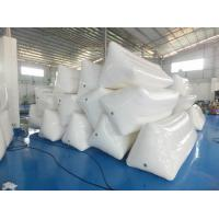 Wholesale White Color Inflatable Floating Billboard For Advertising With Durable PVC Tarpaulin from china suppliers