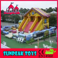 Wholesale PG-121 Commercial Inflatables PVC Used Bounce Houses For Sale from china suppliers