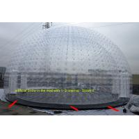Wholesale Bubble Inflatable Clear Tent / Inflatable Dome Tent For Outdoor Activity from china suppliers