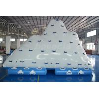 Wholesale Commercial Inflatable Water Iceberg / Inflatable Aqua Iceberg For Lake from china suppliers
