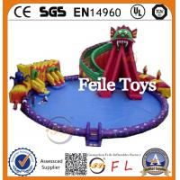 Wholesale 2015 Hot Sale Best Quality inflatable swimming pool slide In China from china suppliers