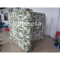 Wholesale Inflatable Paintball Bunker Blindage with Durable Valves for Paintball Game from china suppliers