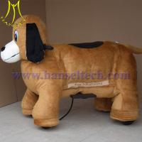 Wholesale Hansel coin operated walking dog plush motorized animals from china suppliers