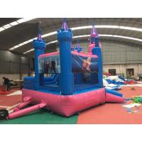 Safety Soft Princess Commercial Bounce House Slide Combo Customized Color