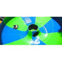 China space fiberglass water slide in water park for water park project on sale