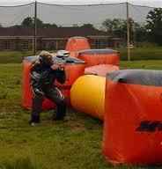 Wholesale Paintball feild equipment 0.6mm PVC Inflatable Paintball Bunkers for Sports  from china suppliers