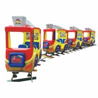 high quality amusement track train children indoor track train playground for for sale