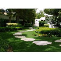 Wholesale Plastic 25mm Garden Artificial Turf Safe 16800 Stitches / ㎡ Density Pet Friendly from china suppliers