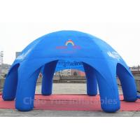 Wholesale 32x16ft Blue Inflatable Dome Tent for sporting events from china suppliers