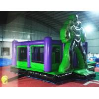 Quality Reliable Safe Inflatable Hulk Bounce House Double Stitching Everywhere for sale